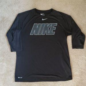 Nike Dri-Fit Baseball 3/4 sleeves